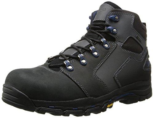 Danner Mens Vicous 4.5 Inch NMT Work Boot,Black/Blue,12 EE US