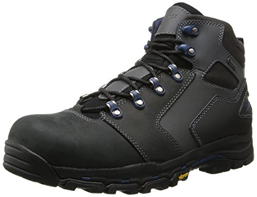 Danner Men's Vicous 4.5 Inch NMT Work Boot,Black/Blue,11 D US