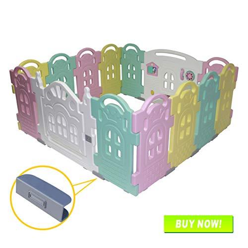 bolígrafo infantil con panel de actividades, corralito para bebés y...