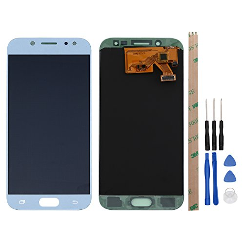 Ocolor di Riparazione e Sostituzione per Samsung Galaxy J5 (2017) J530 SM-J530F LCD Display + Touch Screen Digitizer con Utensili Inclusi (Blu)