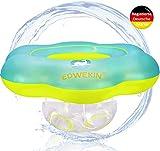 EDWEKIN® Baby Schwimmring, Mitwachsende Schwimmhilfe, Schwimmsitz Kleinkinder, Baby Float, ab 6 Monate bis 3 Jahre