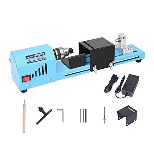 For Sale! TENLSO Mini Motorized Lathe Machine, 24V DC 150W Multifunction Lathe Beads Polisher Machin...