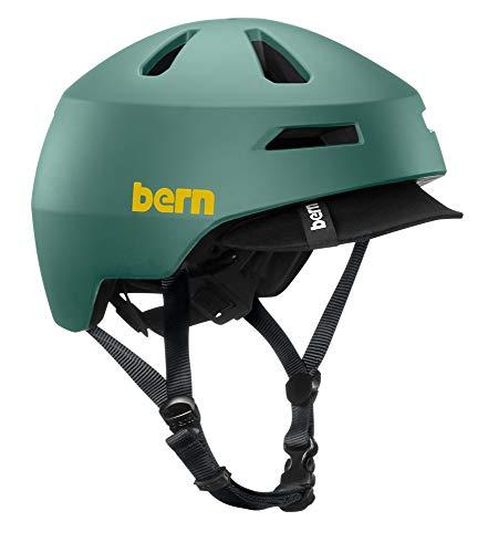 Bern Brentwood 2.0 Casco de Ciclismo, Unisex, Mate Verde Pizarra, M