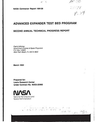 Advanced expander test bed engine (English Edition)