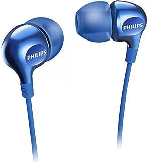Philips In-Ear Gel Headphones - Blue (SHE3700BL)