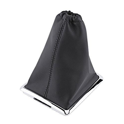 Qiilu Auto Gear Shift Stick Gaiter Stiefel PU Leder Staub Abdeckung Ersatz