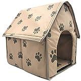 Sysow - Caseta plegable para perros y gatos