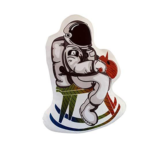 Hunpta @ 42cm Plüschtiere Karikatur Astronaut Dekokissen Weich Plüsch Spielzeug Kuscheltier Puppe Festival Geburtstag Weihnachten für Junge Mädchen
