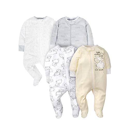 Two Way Zipper Baby Pajamas