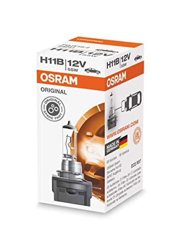 Osram Ampoules 12V 55W Original H11B, 64241, 12 V, boîte Pliante de 1