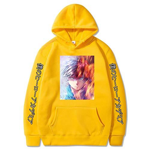 Boku No Hero Academia Shoto Todoroki Kawaii Sweatshirt Hip Hop Hoodie Men Hoodie