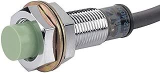 Autonics Cylindrical Proximity Sensor, Metal Basic Material, 3 Wire PNP Circuit Type, NO Output Mode - PR12-4DP
