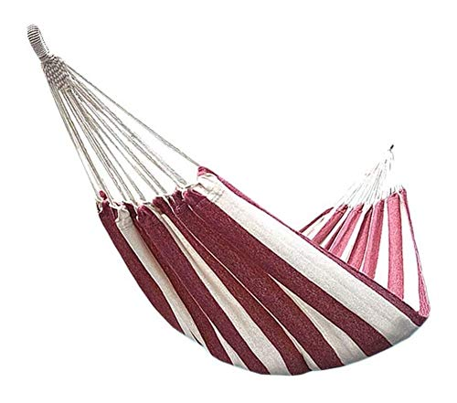 MXXS Single Double Camping Lightweight Portable Hammock Outdoor/Garden Leisure camping portable beach swing bed tree hanging suspended hammock 107 (Color : A, Size : 200x80cm(79x31inch))
