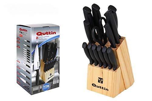 Juego Cuchillos QUTTIN 14 Piezas Tacoma Black