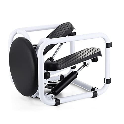 Fitness Stair Stepper, Home Fitness Step Machine, Mute Stepper con Monitor LCD, Cilindro HidráUlico Doble De AbsorcióN De Impactos, Adecuado para Entrenamiento En El Hogar Y La Oficina