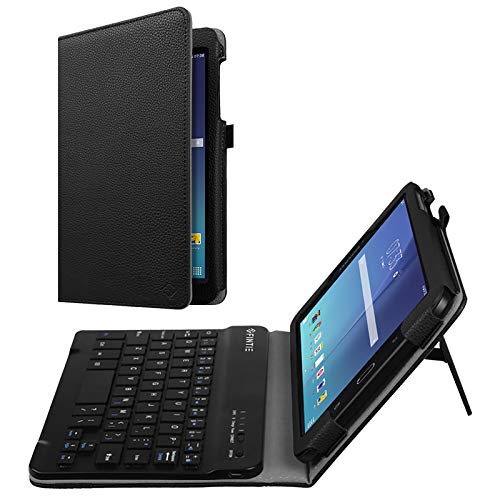 Fintie Keyboard Case for Samsung Galaxy Tab E 8.0, Slim Fit Folio PU Leather Case with Detachable Magnetical Bluetooth Keyboard for Galaxy Tab E 32GB SM-T378/Tab E 8.0 SM-T375/T377, Love Tree