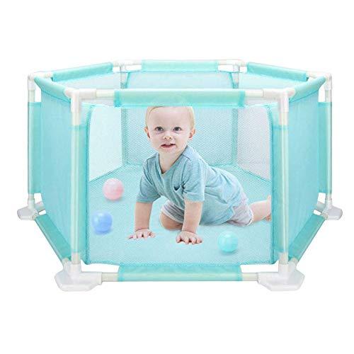 Dream-cool Kinder Laufstall für Kinder, sechseckig, Spielgitter, Spielgitter, waschbar, für Babys/Kleinkind/Neugeborene/Kleinkinder