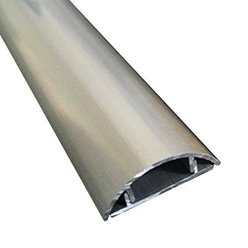 Mr.Garden Cordline Aluminum alloy channel CordMate Kit, Silver color 3.28ft Length x 1.3mm Thickness 1 pack
