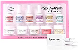 Kiara Sky Dipping Powders Essentials Kit. Complete and Easy-To-Use Powder Manicure Dipping Kit.