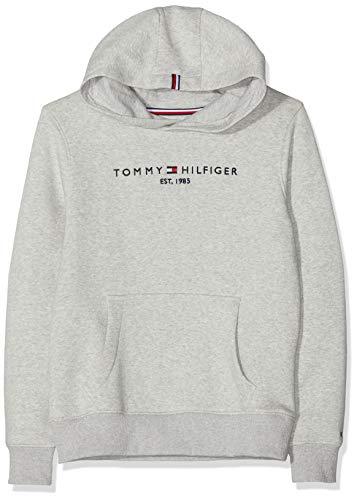 Tommy Hilfiger Essential Hoodie Set 1 Capucha, (Grey Pz2), 116 (Talla del Fabricante: 6) para Niños