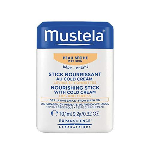 Mustela Nourishing Stick With Cold Cream, 0.32 oz.