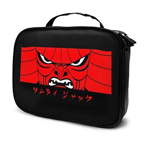 Trousse de Maquillage Pochette cosmétique Samurai Jack is Back Mask Kit de Voyage pour Sac Multifonctionnel