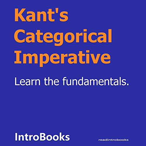 Kant's Categorical Imperative cover art