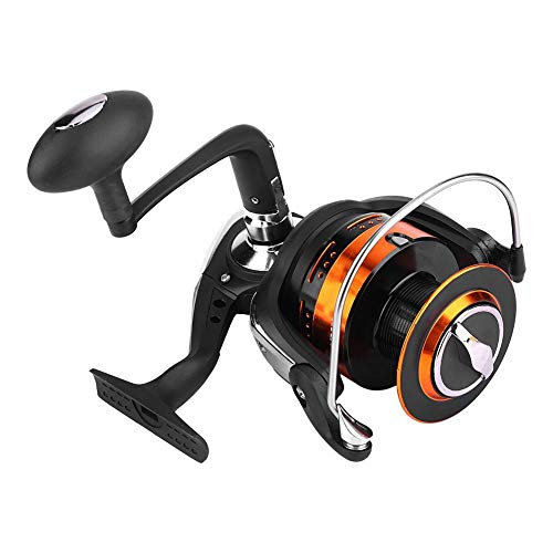 T best Spinning Fishing Reel, Fish Lure Gear Spinning Fishing Reel Live Accessory with Metal Foldable Rocker Arm