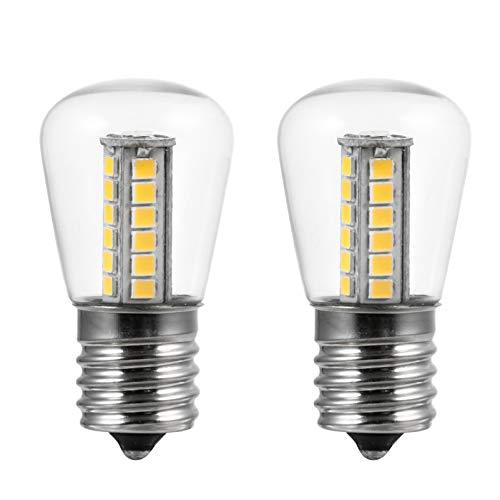 SOLUSTRE 2Pcs Appareil Four Réfrigérateur Ampoules Appareil Ampoule pour Four Réfrigérateur Micro-Ondes