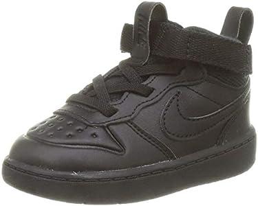 Nike Court Borough Mid 2 Boot (TD), Sneaker Baby-Boys, Black/Black-Black, 23.5 EU
