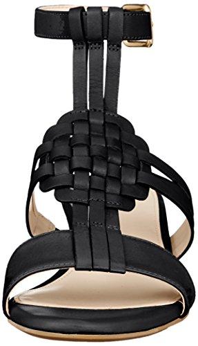 [コールハーン] パンプス 【公式】 フィンドラ ウォーブン スライド ウェッジ II ブラック レザー 22 cm