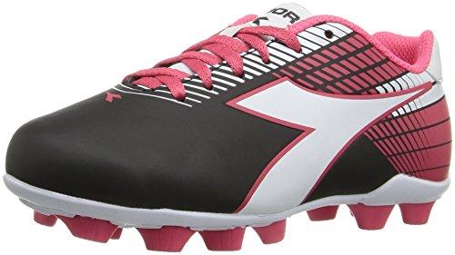 Diadora Zapatos de skate Ladro Md Jr para niños, rosa (Negro/ blanco/ rosa), 28 EU