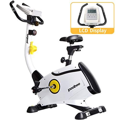 L NOW Exercise Bike, Indoor Cycling Bike, Belt Drive Stationary Bike, Magnetic Resistance...