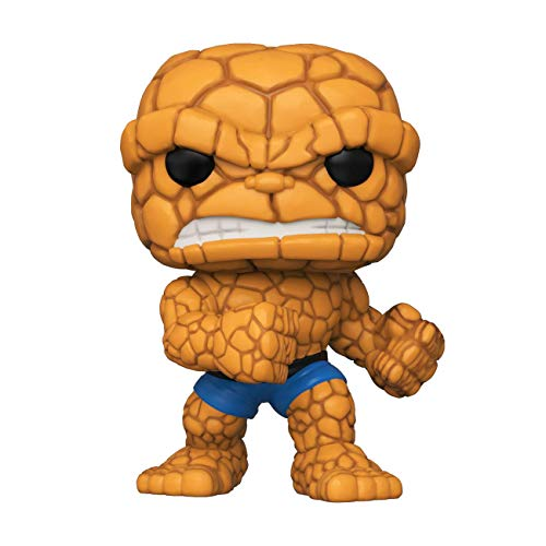 Funko- Pop Marvel: Fantastic Four-The Thing Collectible Toy, Multicolor (44988)