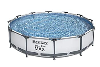 Bestway 56061US Steel Pro MAX Above Ground Swimming Pool 12  x 30  White