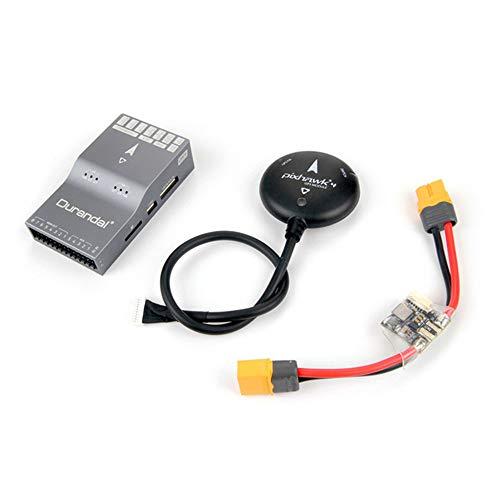 Tookss Holybro Durandal (beta) Ardupilot H7 Pixhawk PX4 controlador de vuelo de código abierto con placa de alimentación PM02 NEO-M8N GPS para dron RC predeterminado