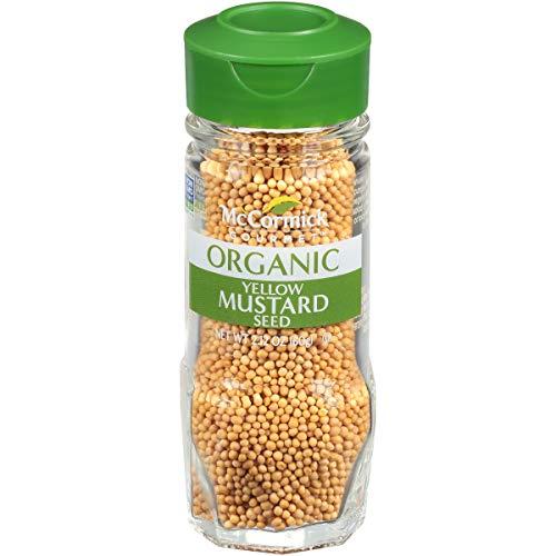 McCormick Gourmet Organic Yellow Mustard Seed, 2.12 oz
