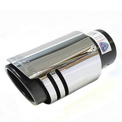 Autohobby 329 Endrohr Auspuffblende Auspuff Edelstahl Sportauspuff Universal Chrom Tuning Blende Schalldämpfer