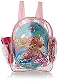 Paw Patrol 2221 - Set con mochila, casco y protecciones para niña, Multicolor