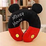 weichuang Almohada de Viaje Mickey Minnie Mouse Kawaii Dibuj
