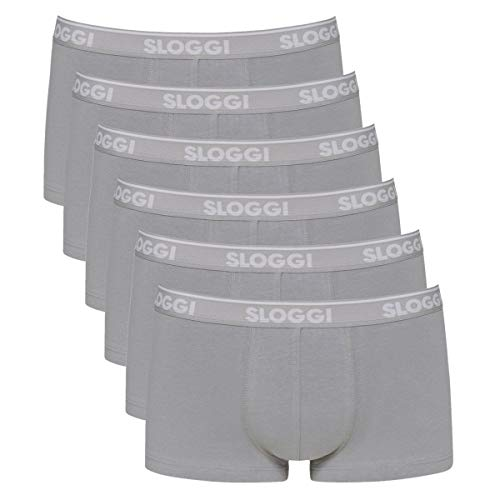 Sloggi Men - GO ABC - Hipster - Pants - 6er Spar-Pack (L Stone Grey)