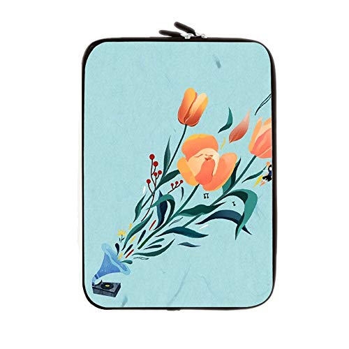 Compatible 10 Inch Table Bag With Flower 1 Soft Tpu Light Womon Choose Design 143-5