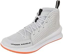 Under Armour Men's Jet 2019 Basketball Shoe, Halo Gray (105)/White, 11.5