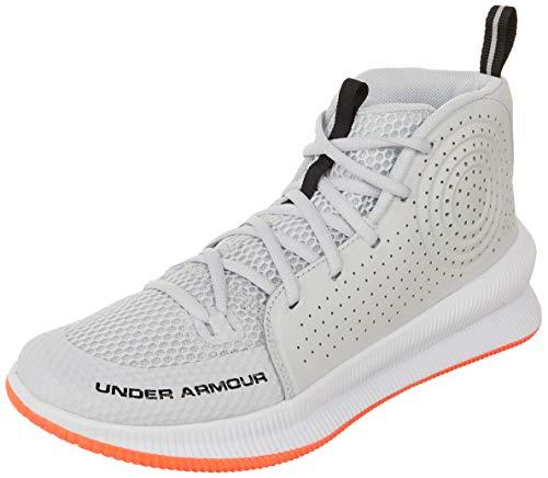 Under Armour Herren UA Jet Basketballschuhe, Grau (Halo Gray/White/Black (105) 105), 42 EU