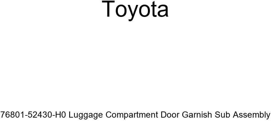 TOYOTA Genuine 76801-52430-H0 Luggage Compartment Baltimore Mall Door Garnish Boston Mall S