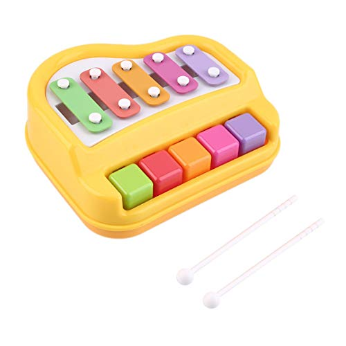 Kid-Learning Toy Teaching Machine Pequeño Xilófono Knock Instrumento Musical #Pennytupu