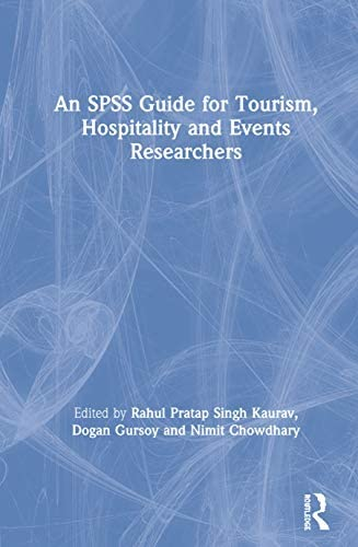 An SPSS Guide for Tourism Hospitality and Events Researchers product image