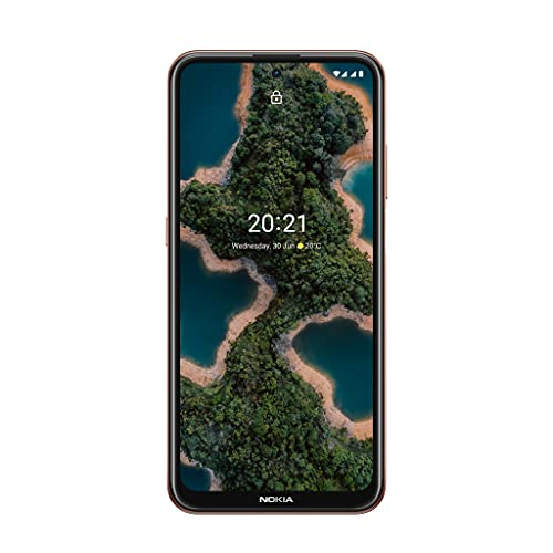 Smartphone Nokia X20 5G colore Midnight sun, singola/doppia SIM, RAM 6/8 GB, ROM 128 GB, fotocamera anteriore da 32 MP con ottica ZEISS