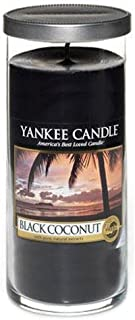 Yankee Candles Large Pillar Candle - Black Coconut