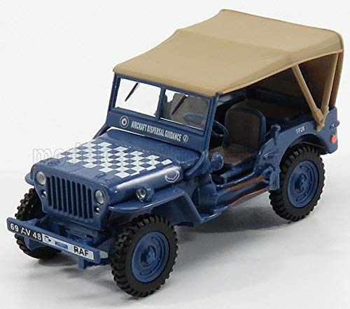 HONGWELL ジープ ウイリス 王立空軍 ミニカー 1/43 JEEP WILLYS 1/4 TON ARMY RAF MILITARY CLOSED 1941 (B...
